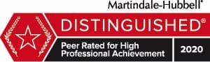 Martindale Distinguished 2020