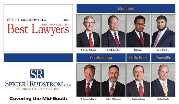 8 Spicer Rudstrom PLLC lawyers named to 2022 Best Lawyers® list