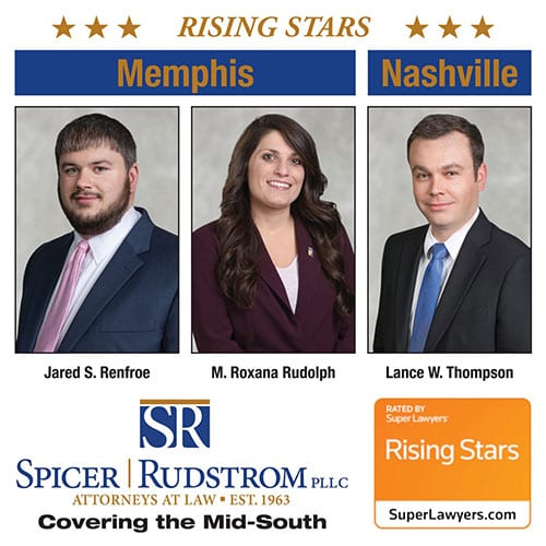 Super Lawyers Mid-South Rising Stars