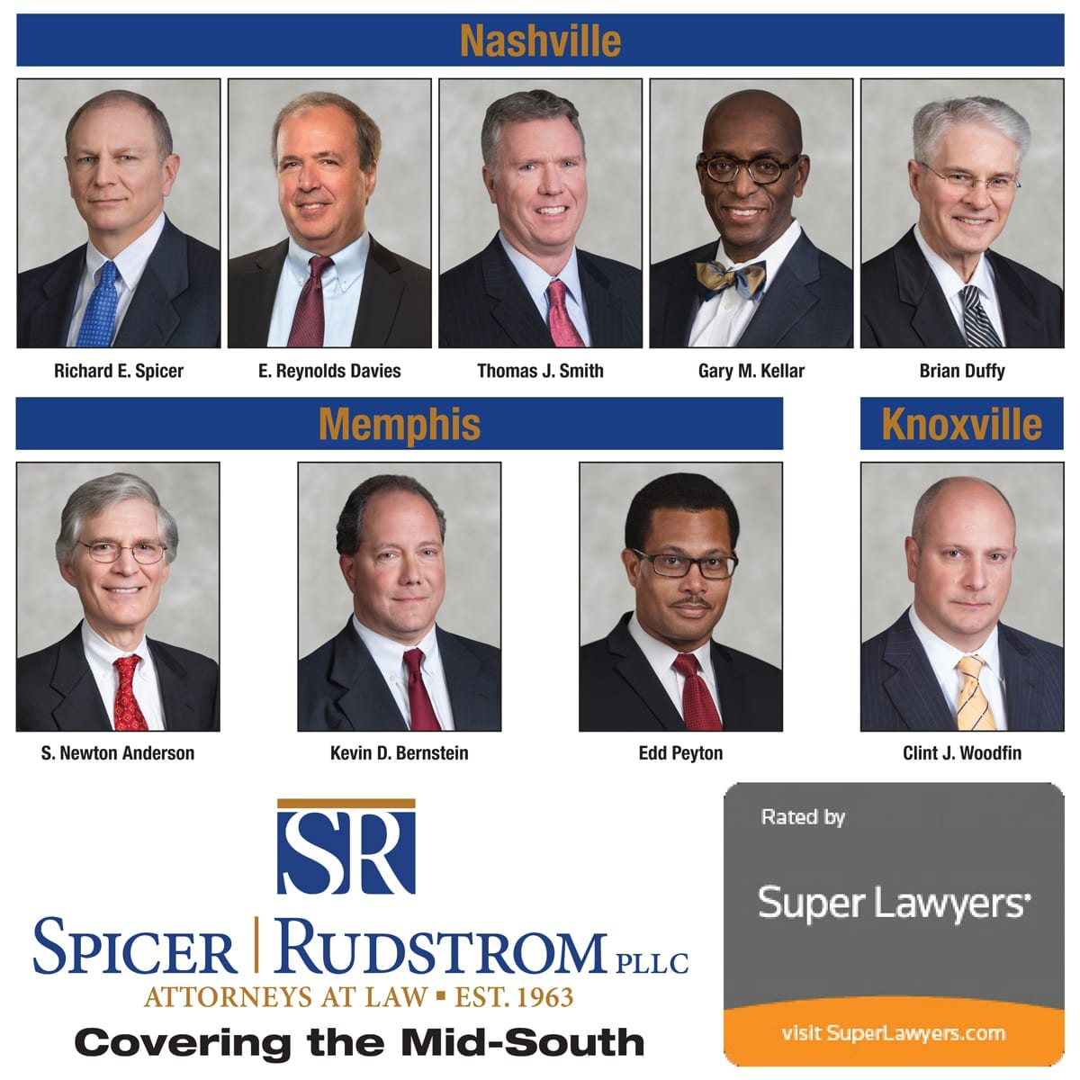 Spicer Rudstrom, PLLC Super Lawyers